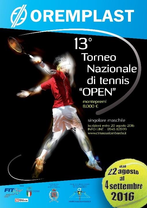 Presentato il Torneo Open 13° Trofeo Oremplast